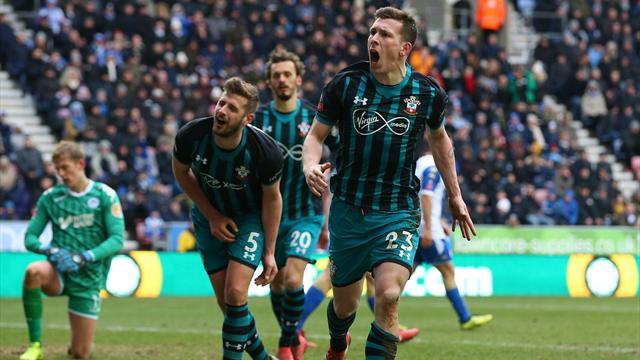 Southampton till cupsemi efter straffdrama - se målen här