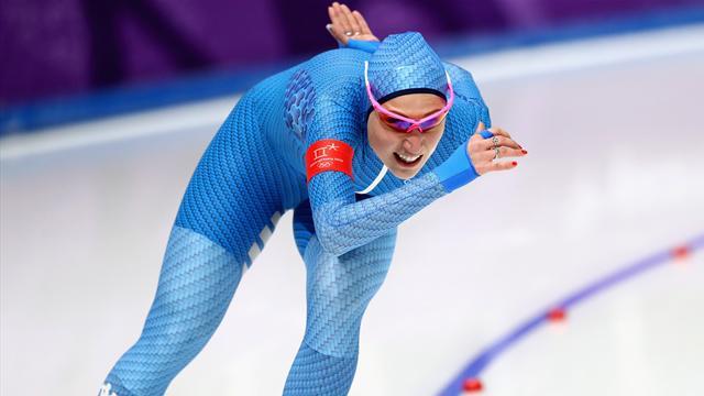 Bravissima Francesca Lollobrigida, è terza anche nei 3000 metri e seconda nell'all-round