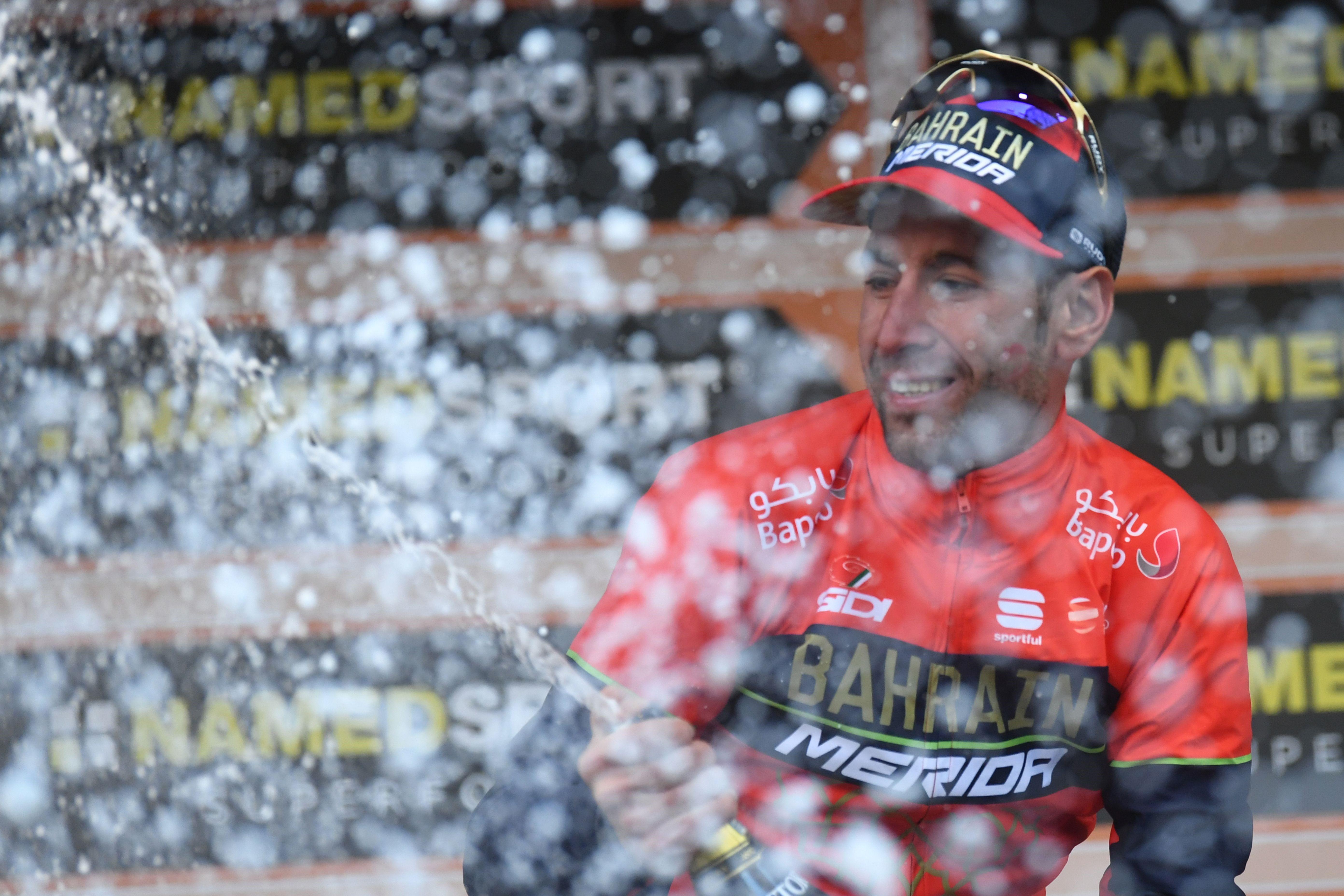Vincenzo Nibali à Milan-San Remo 2018