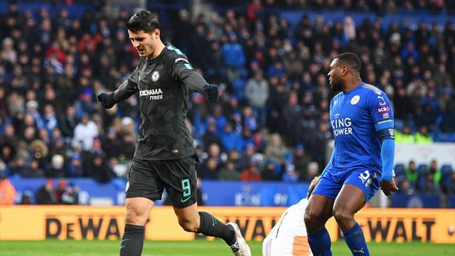 Avec un accent espagnol, Chelsea a fini par sortir Leicester