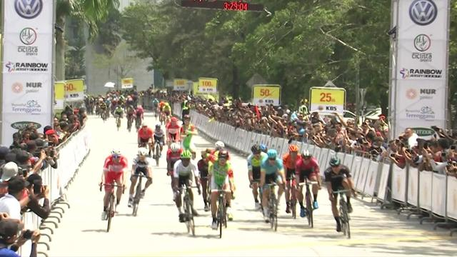 Tour de Langkawhi: Guardini gana la primera etapa en Langkawi, su primer triunfo en dos años