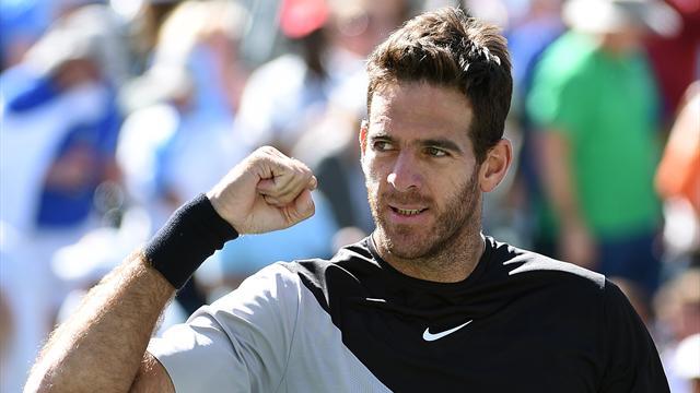 Un del Potro colossal stoppe Federer