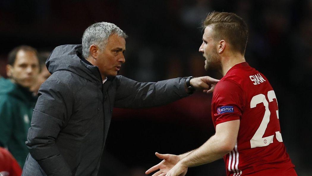 20aa673f7c2 Paper Round: Luke Shaw's response to Jose Mourinho, Liverpool fear Mohamed  Salah exit - Premier League 2017-2018 - Football - Eurosport UK