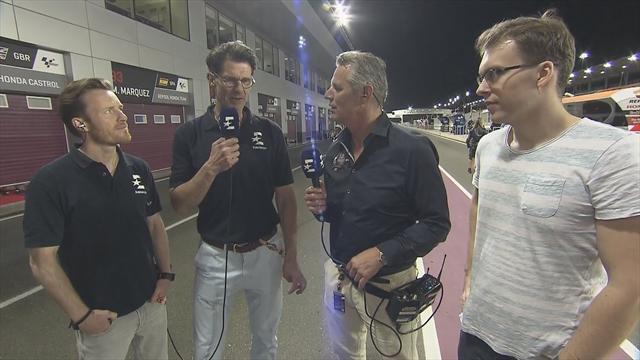 """""""Spektakulärer Auftakt von Dovizioso"""": Eurosport-Crew von MotoGP-Start begeistert"""
