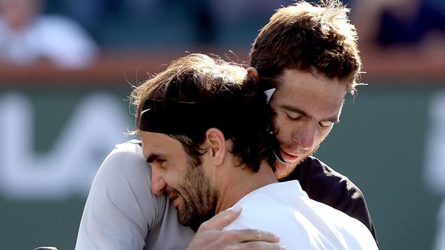 Juan Martin Del Potro defeats Roger Federer to win Indian Wells title