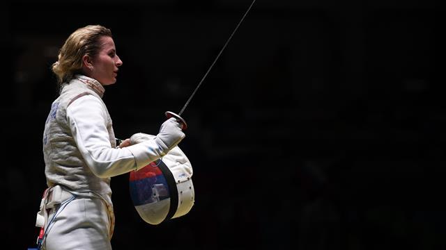 Дериглазова выиграла соревнования в рапире на Гран-при в Калифорнии