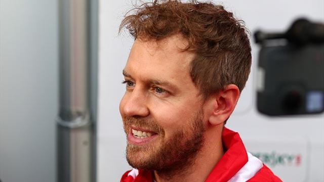 """Vettel: """"Non c'è da preoccuparsi. La SF71H? Si chiama Loria"""""""