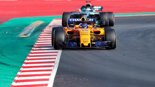 Por fin llegó la hora de correr — Fernando Alonso