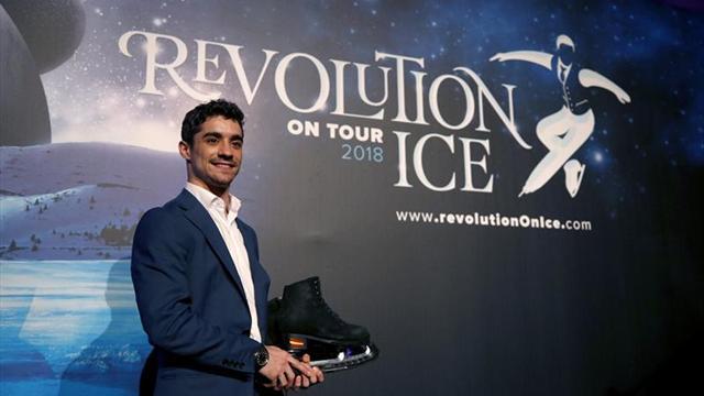 Javier Fernández presenta en Madrid su 'Revolution on Ice'
