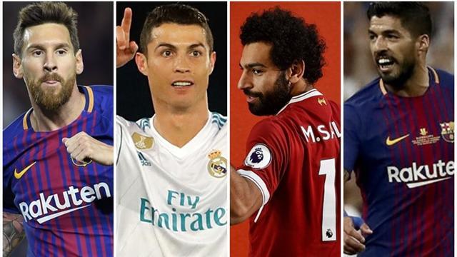 Messi y Cristiano buscan la quinta en una lucha encarnizada por la Bota de Oro