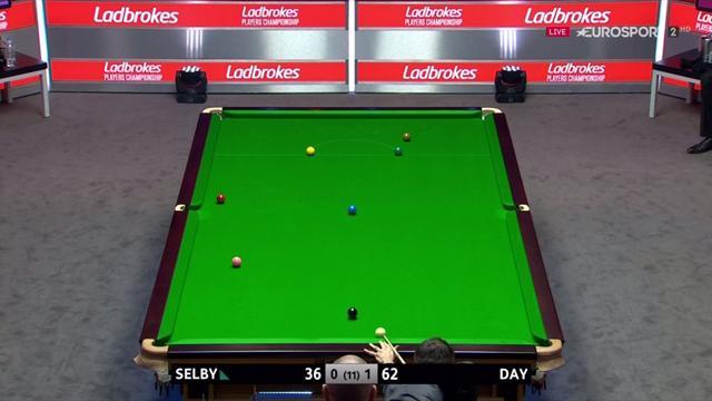 El genial golpe a dos bandas de Mark Selby