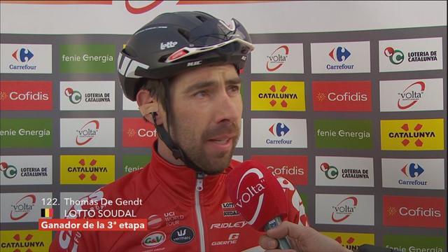 De Gendt: 'I didn't think I could make it'
