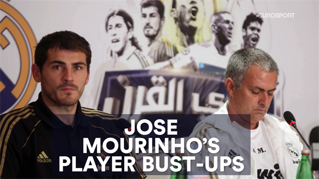 The (long) history of Jose Mourinho's player bust-ups