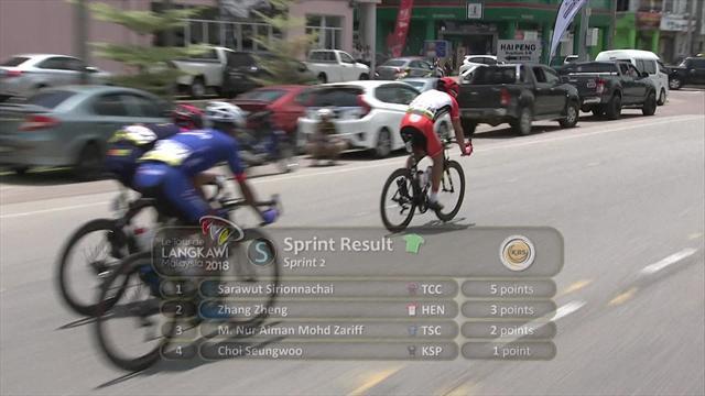 Tour de Langkawi: Riccardo Minali consigue su segunda victoria; De Vos sigue líder