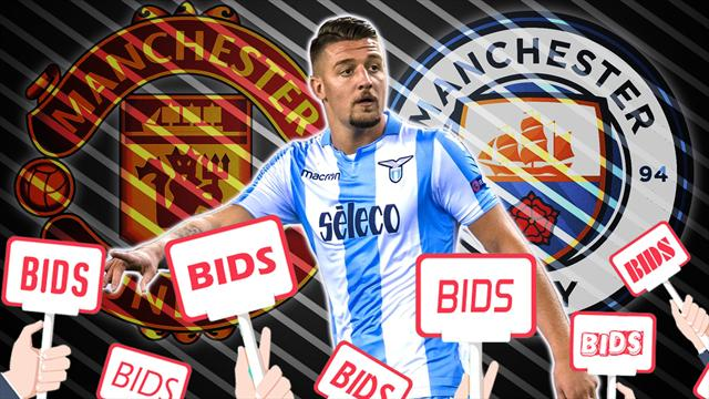 Euro Papers: Milinkovic-Savic pushes for United vs City bidding war