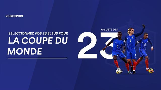 Et maintenant, combien de Marseillais dans vos 23 pour le Mondial ?
