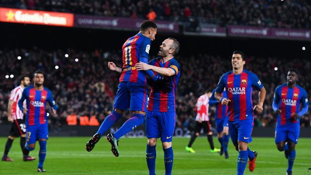Барселона желает оставить Иньесту наследующий сезон