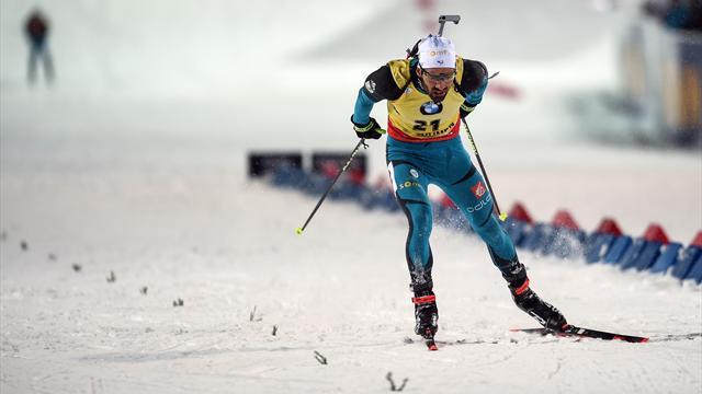 Биатлонист Мартен Фуркад одержал победу гонку преследования вТюмени