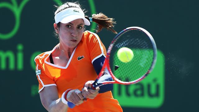 WTA Miami: Garbiñe Muguruza ya conoce a su rival en tercera ronda, Christina McHale