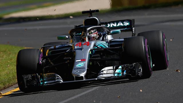 Prime libere: Hamilton in testa con le UltraSoft, Ferrari quarta e quinta con gomme più dure