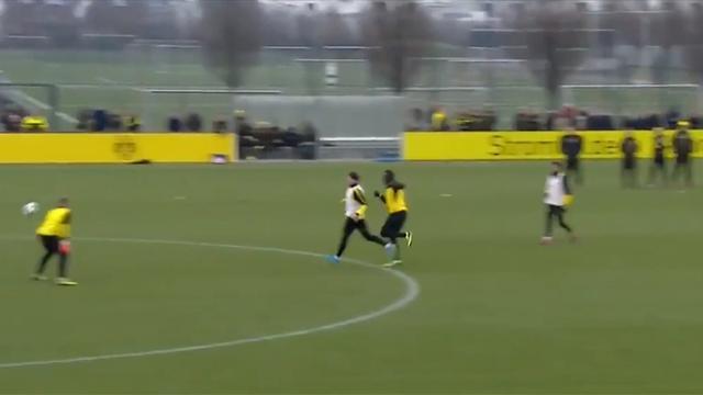 Усэйн Болт забил гол натренировке дортмундской Боруссии