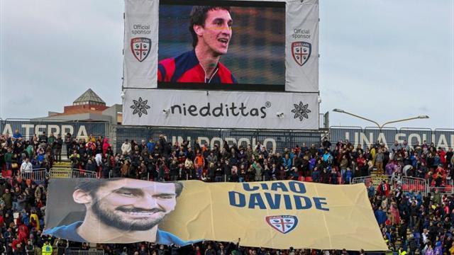 Italia homenajeará a Astori en partido contra Argentina