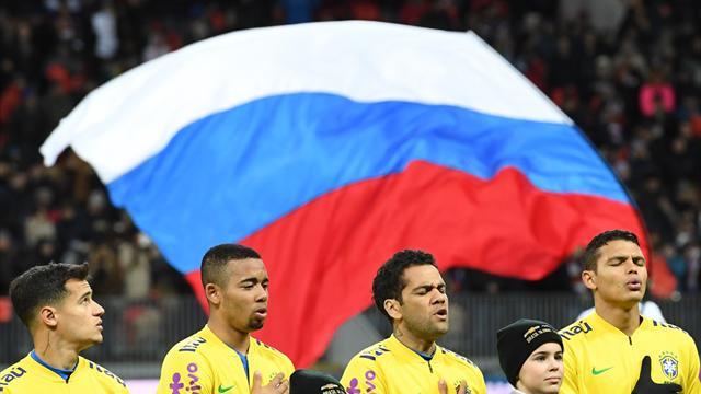 Бразилия разгромила РФ в российской столице