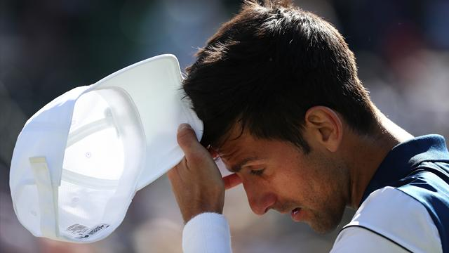 Djokovic reconnaît un retour précipité : «J'essaye de recoller les morceaux»