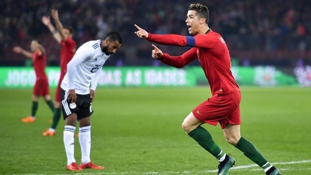 Футболисты сборной Египта проиграли команде Португалии втоварищеском матче