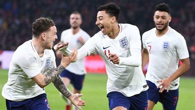 L'Inghilterra manda ko Koeman al suo esordio sulla panchina dell'Olanda: 0-1 siglato da Lingard