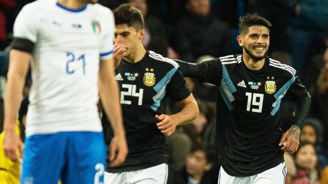 ¡Vamos Argentina! La Selección iguala con Italia en Manchester