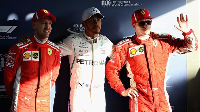 """Raikkonen e Vettel: """"Il distacco con Hamilton c'è ma in gara possiamo risalire"""""""
