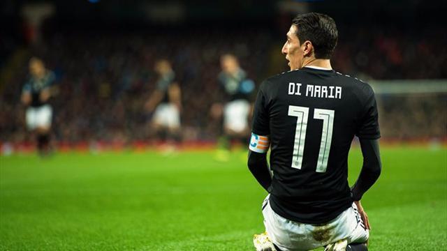 Di María no jugará con España por una lesión y fue desafectado