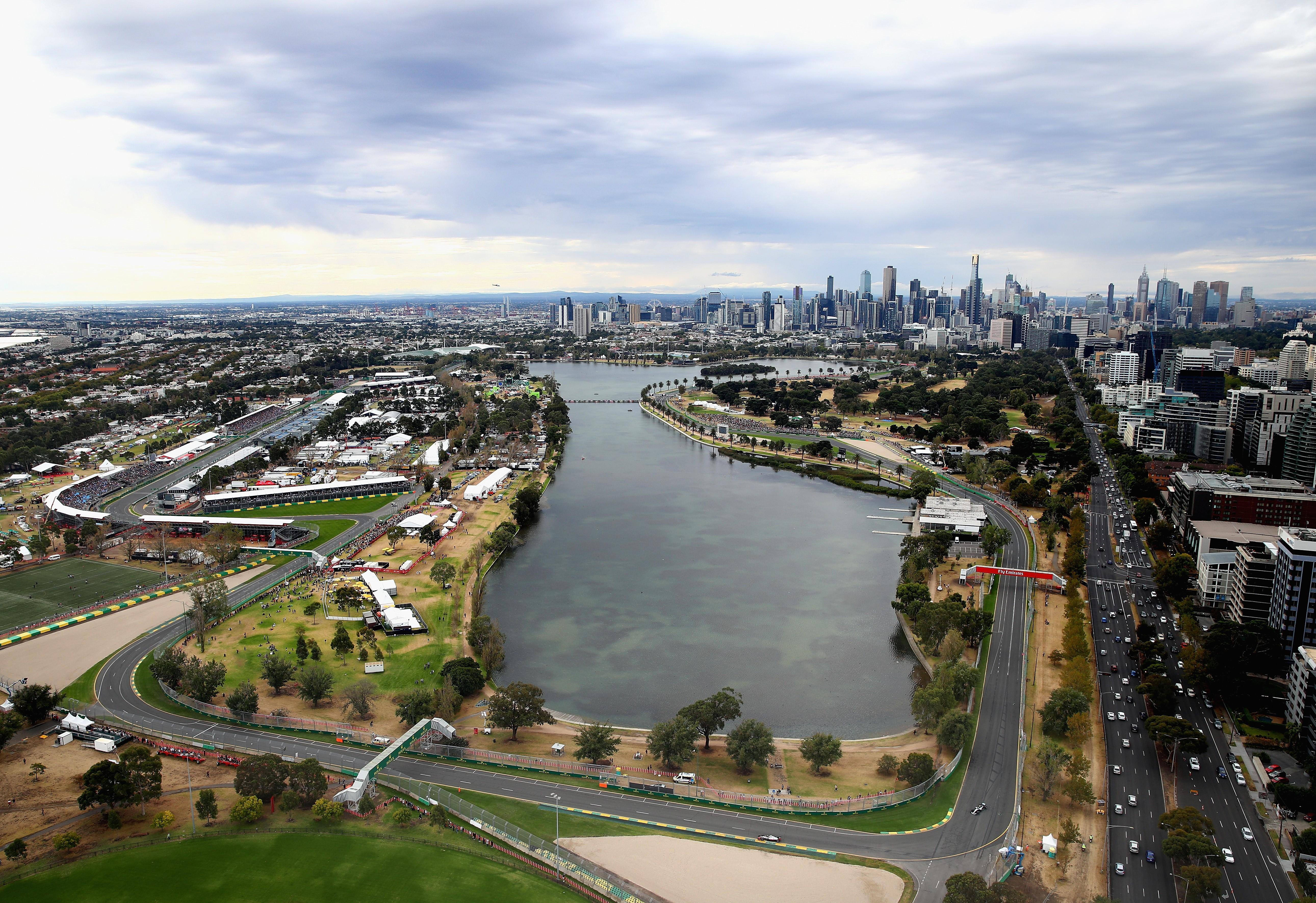 Le circuit de l'Albert Park à Melbourne - Grand Prix d'Australie 2018