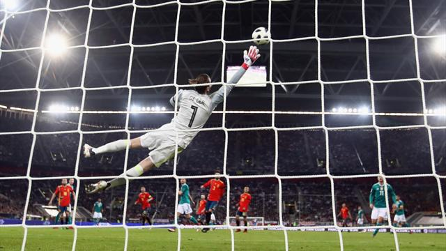 David de Gea is not a fan of the World Cup ball