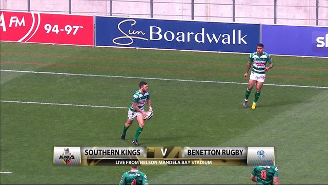Southern Kings-Benetton Rugby 35-36: gli highlights della vittoria biancoverde