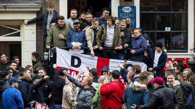 Dutch police detain 90 England supporters for violence