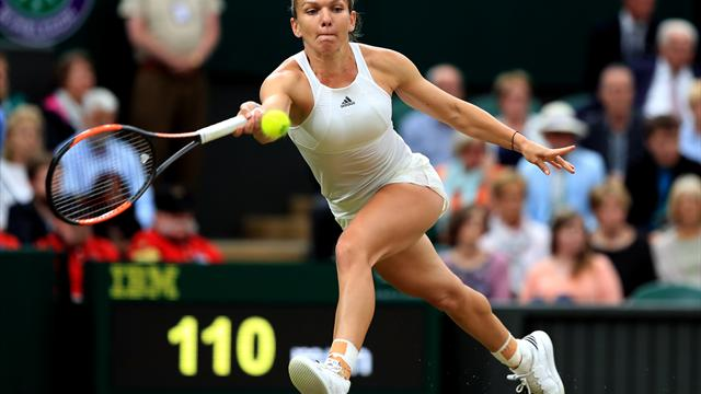Halep survives Dodin scare to advance in Miami