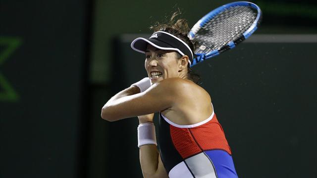 WTA Roma, Garbiñe Muguruza-Daria Gavrilova: Adiós tras una 'batalla' nocturna (7-5, 2-6 y 6-7(6)