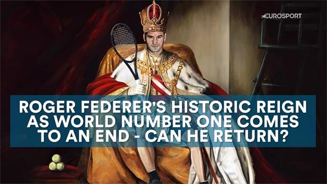 Federer's historic reign as world number one ends - can he return?