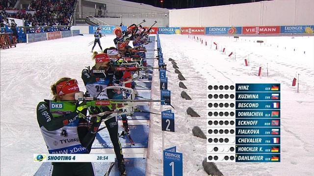 Domracheva takes victory in mass start in Tyumen