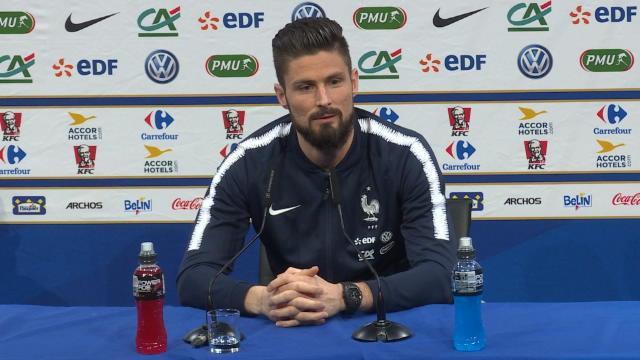 Giroud: «Possible que ce soit ma dernière compétition internationale»