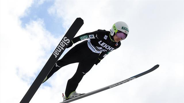 Takanashi extends record at Oberstdorf