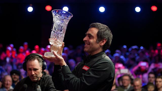 O'Sullivan slams snooker's 'numpties' after winning record fifth title