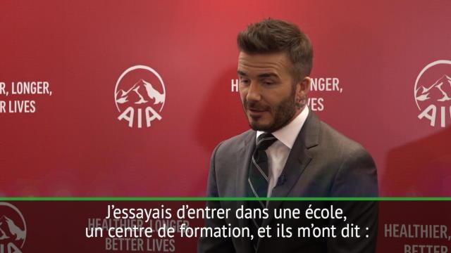 Beckham : «À 12 ans, on m'a dit que je ne jouerais jamais pour mon pays»