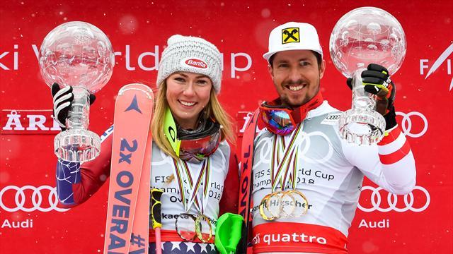 Marcel Hirscher e Mikaela Shiffrin, i cannibali dello sci alla caccia di nuovi record