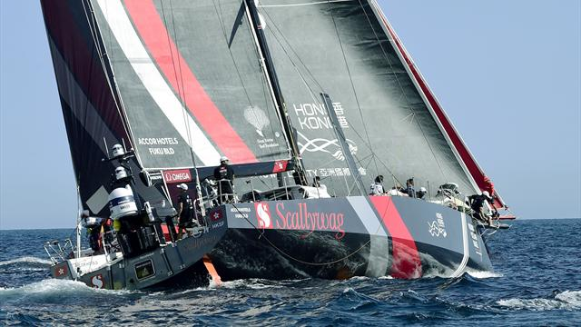 Scallywag out of Sydney-Hobart blue-water classic.