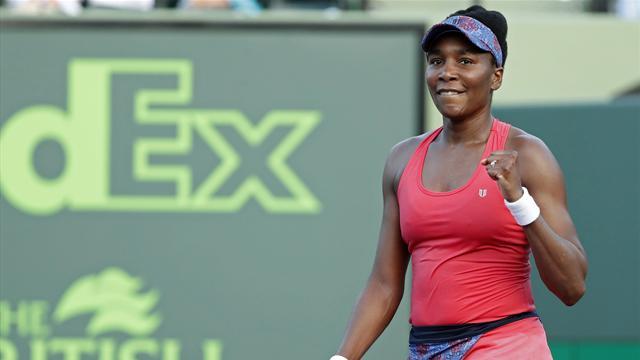 Venus Beats Konta To Reach Miami Open Quarters