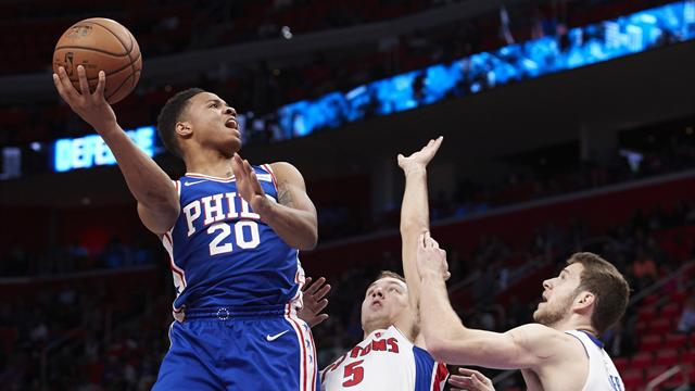 Fultz helps 76ers beat Nuggets 123-104