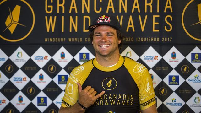 Windsurf-Ass Köster kämpft vor Sylt um den WM-Titel